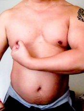 gay - lesbian bodybuilder